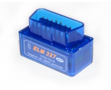 Super mini OBD BT3.0 透明蓝